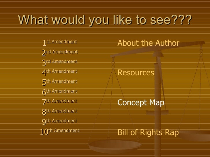The First 10 Amendments