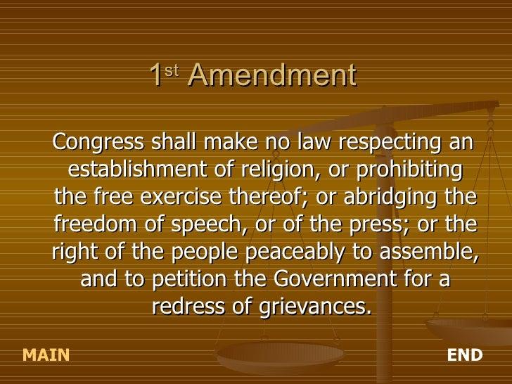 purpose of the first ten amendments