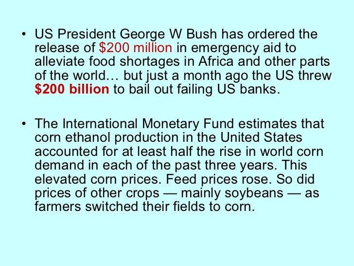 <ul><li>US President George W Bush has ordered the release of  $200 million  in emergency aid to alleviate food shortages ...