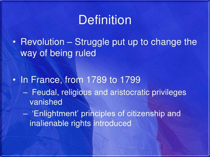 the changes that came with the french revolution between 1789 and 1799 A timeline of french revolution events the next major event of the revolution occurred on 4 august 1789 fought between the french revolutionary.