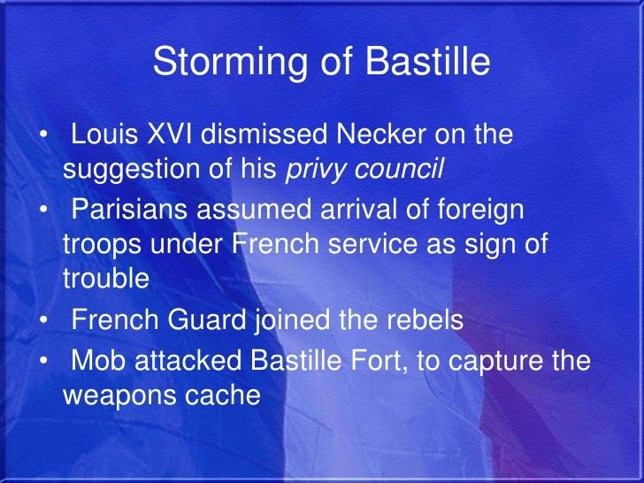 louis xvi failure to prevent the french revolution Causes for the french revolution •louis xv fought many wars,  •the almost total failure of louis xvi and  nonstop session to prevent eviction from their.