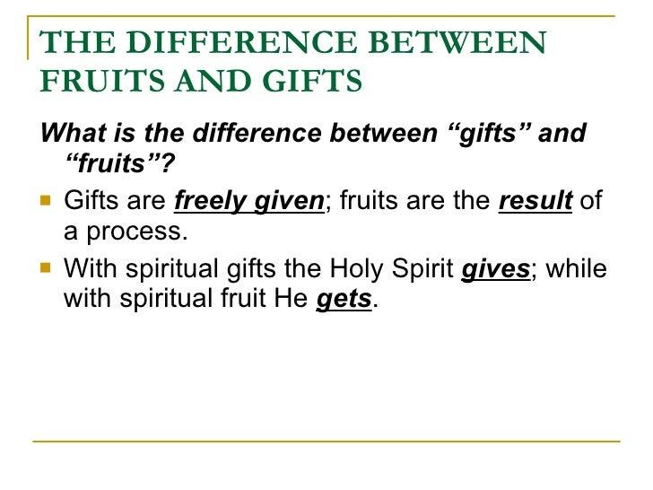 Spiritual gifts essay