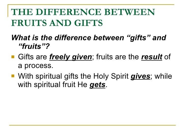 The fruits and gifts of the holy spirit negle Choice Image