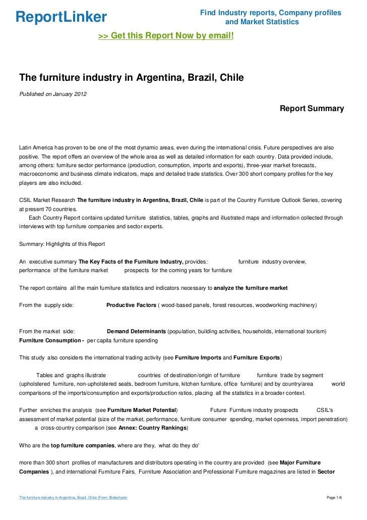 Find Industry Reports, Company ProfilesReportLinker .
