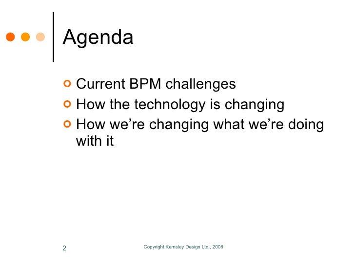 The Future Of BPM Slide 2