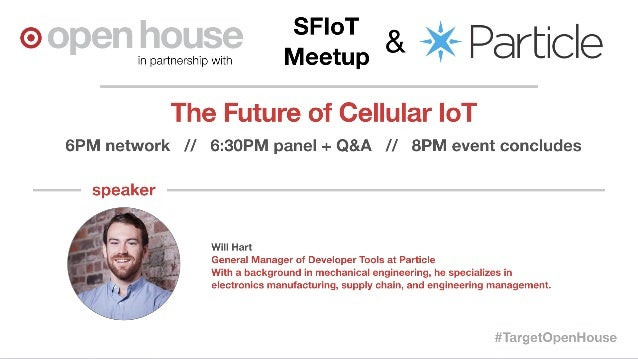 The Future of Cellular-IoT - Meetup Presentation