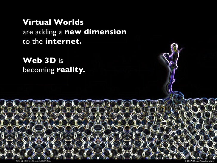 A virtual world is a                                      computer-based simulated                                      en...