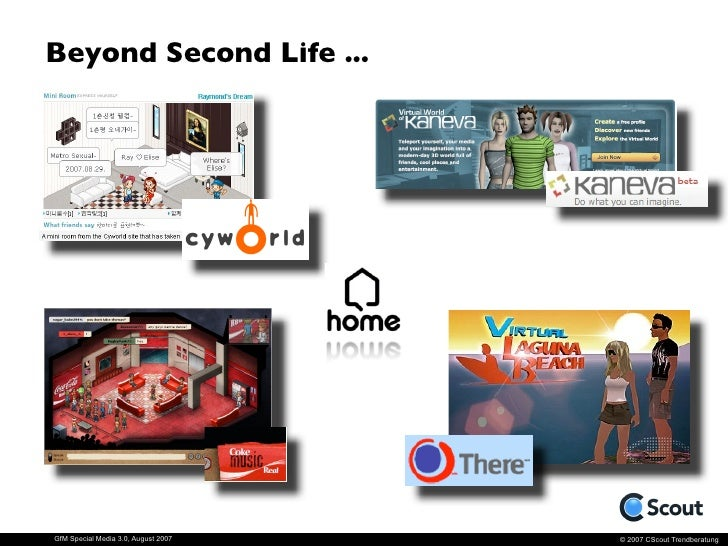 """Future Virtual Worlds                                      - Playstation """"Home"""".                                      Home..."""