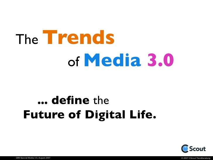 The Future of Digital Life