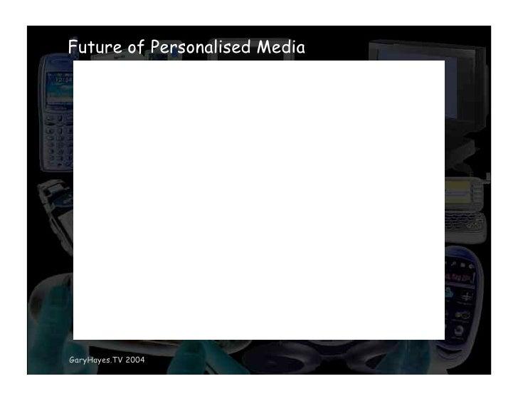 Future of Personalised Media     GaryHayes.TV 2004