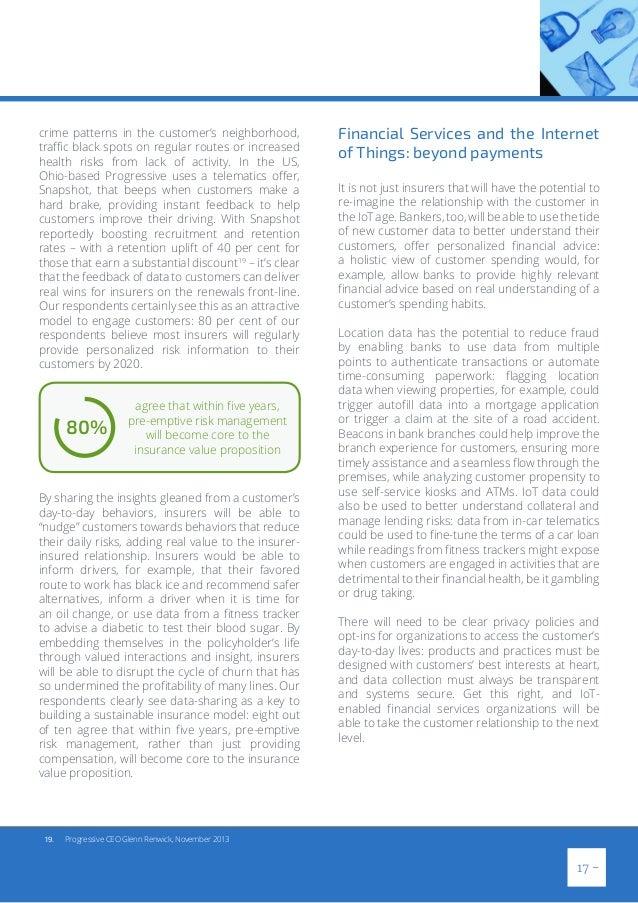 Progressive Snapshot Beeps >> The Future of Financial Services
