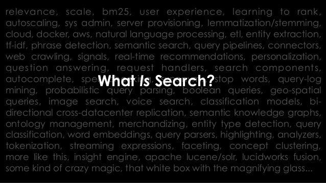 Thank you! @treygrainger #Activate18 #ActivateSearch