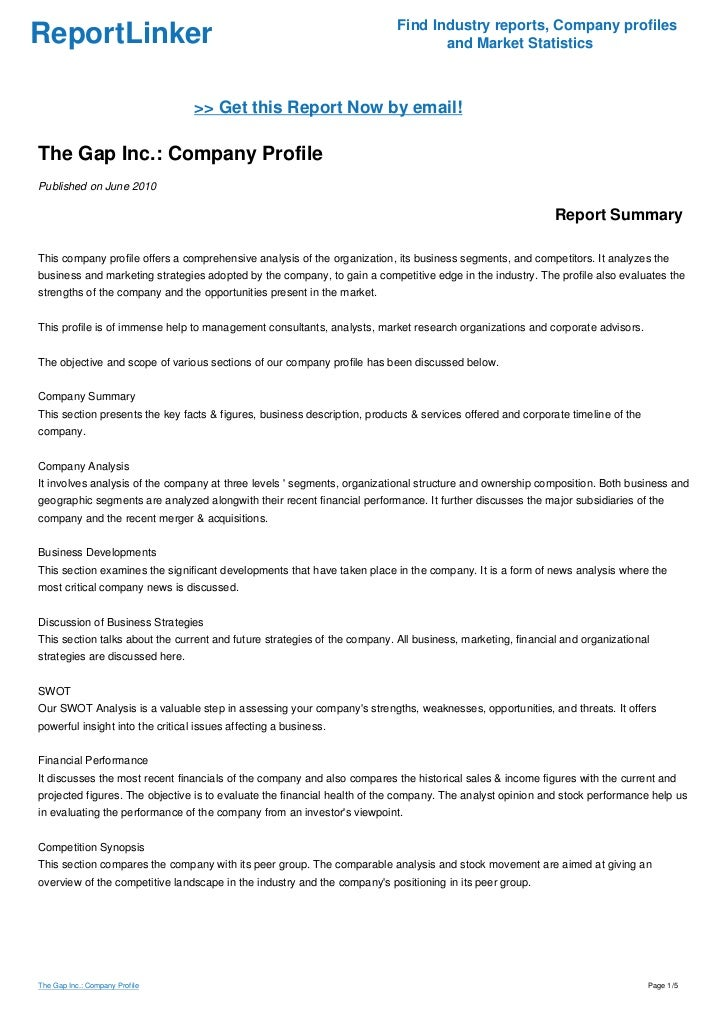 gap inc interim report Gps news: quarterly report (10-q), 08/31/2018 02:03:20 pm gps news:  gps  news: gap inc reports second quarter results, 08/23/2018 04:15:00 pm.