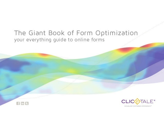 3 The Giant Book of Form Optimization your everything guide to online forms