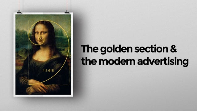 The Golden Section & The Modern Advertising