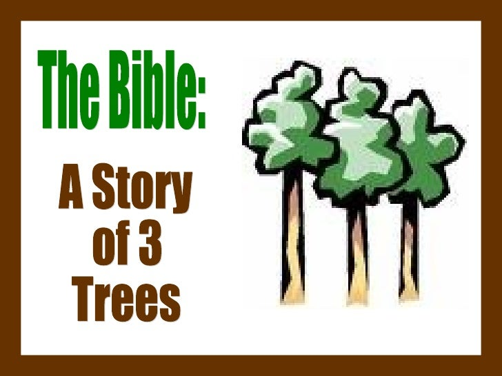 The Bible: A Story of 3 Trees