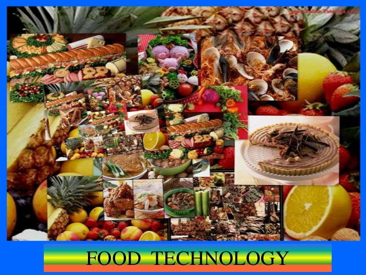 FOOD  TECHNOLOGY<br />