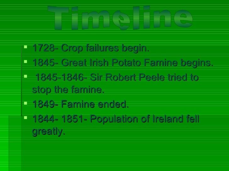 great potato famine essay Potato famine essays hundreds of thousands were lost, another million fled to make better lives for themselves as the result of the great potato famine leading up to the great potato famine of ireland, in 1800 the british act of union made ireland a part of the united kingdom.