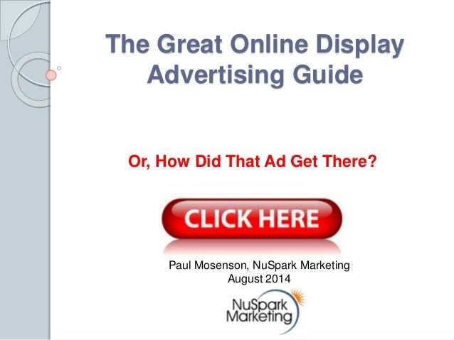 The great online display advertising guidepdf the great online display advertising guide or how did that ad get there fandeluxe Gallery