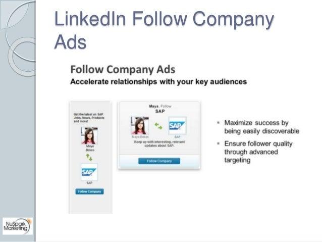 LinkedIn Follow Company  Ads