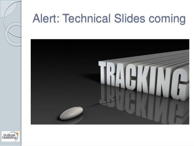 Alert: Technical Slides coming