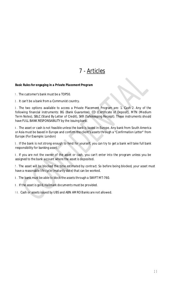 The guide about private placement program 22 17 nvjuhfo Choice Image