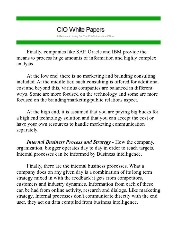 process focus strategy pdf