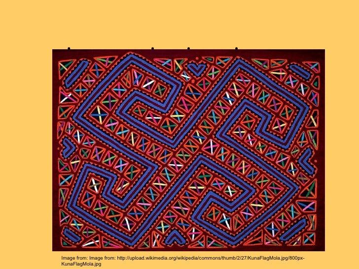  Image from: Image from: http://upload.wikimedia.org/wikipedia/commons/thumb/2/27/KunaFlagMola.jpg/...