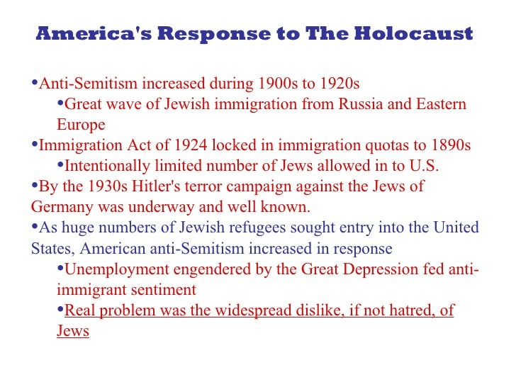 reaction to the holocaust essays Essay writing guide the holocaust - personal response to anne frank's diary and the problem of evil for a because of nazi propaganda during the holocaust.
