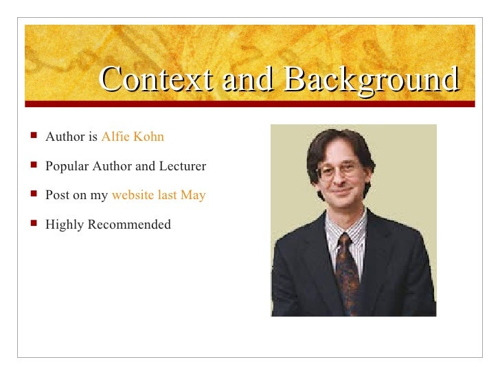 alfie kohn the homework myth quotes
