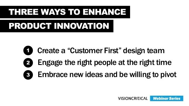 The Human Side of Product Innovation