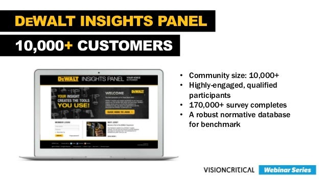 CHAT WITH CHICO'S + • Community size: 14,000+ • Created in 2008 • Well segmented membership • Every customer on the panel ...