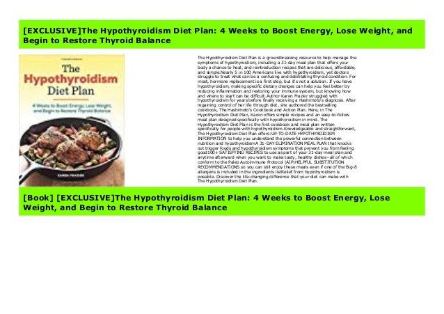 karen fraziers hypothyroid diet plan pdf