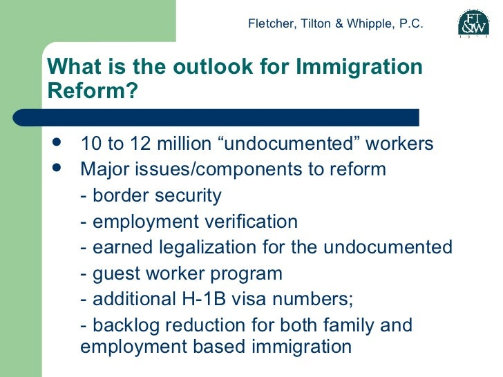 immigration the enforcement guest worker and legalization perspective Farmers and agricultural industry types hope that their agreement includes fixing the guest worker immigration reform fixes worker immigration enforcement.