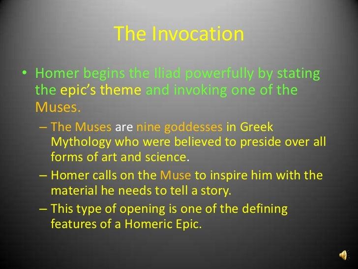 The Iliad Powerpoint Presentation1