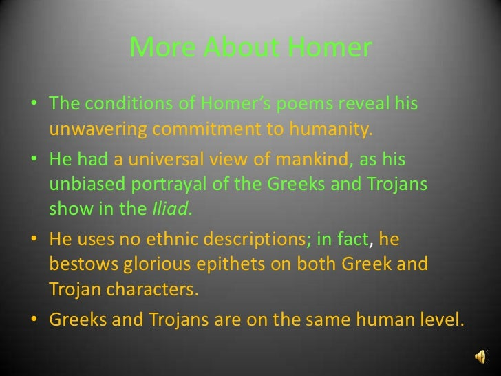 the character of achilles in the iliad by homer Character analysis in iliad achilles : son of the immortal sea nymph thetis and greek hero peleus, achilles is one of the most widely known heroes of myth commander of the myrmidons, achilles is the most powerful hero in the iliad and was said to be invulnerable in all of his body but his heel, where his mother held him when she dipped him in .