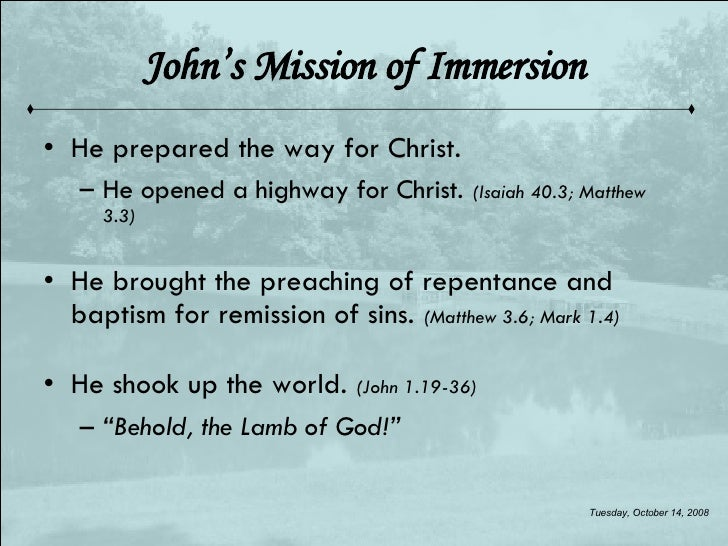 The Immersion And Temptation Of Christ Slide 3
