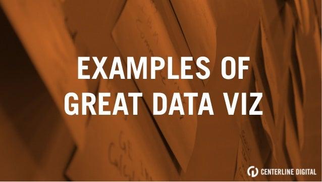 EXAMPLES OF GREAT DATA VIZ