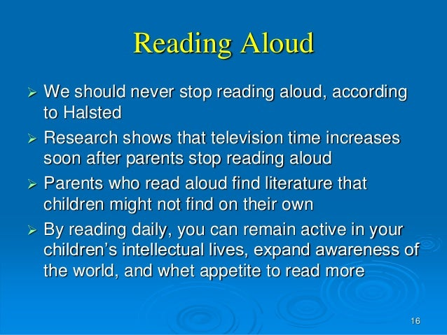the significance of reading aloud to children Reading facts image:  children with reading difficulties are at greater risk of developing mental health problems later in life, including depression,.