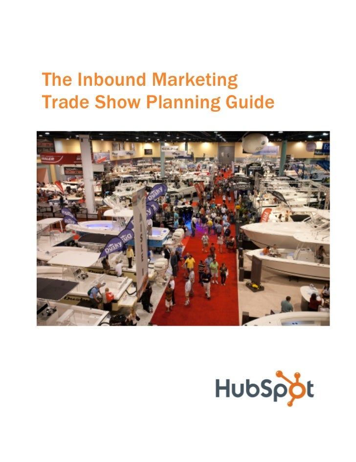 The Inbound MarketingTrade Show Planning Guide