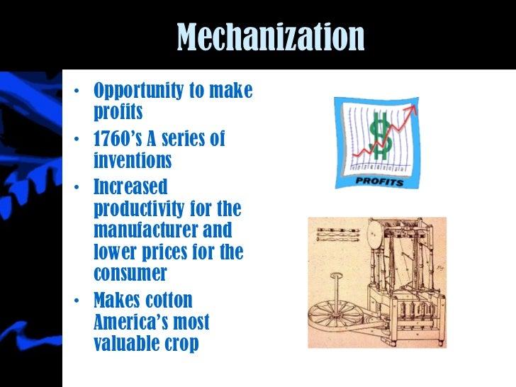 Mechanization of the cotton industry in Japan and India Essay