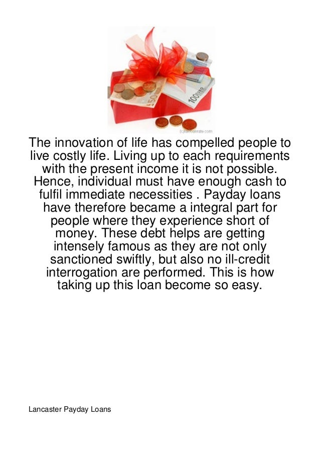 The innovation of life has compelled people tolive costly life. Living up to each requirements    with the present income ...