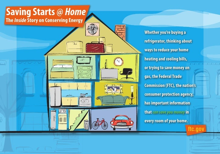 Saving Starts @ HomeThe Inside Story on Conserving Energy                                        Whether you're buying a  ...