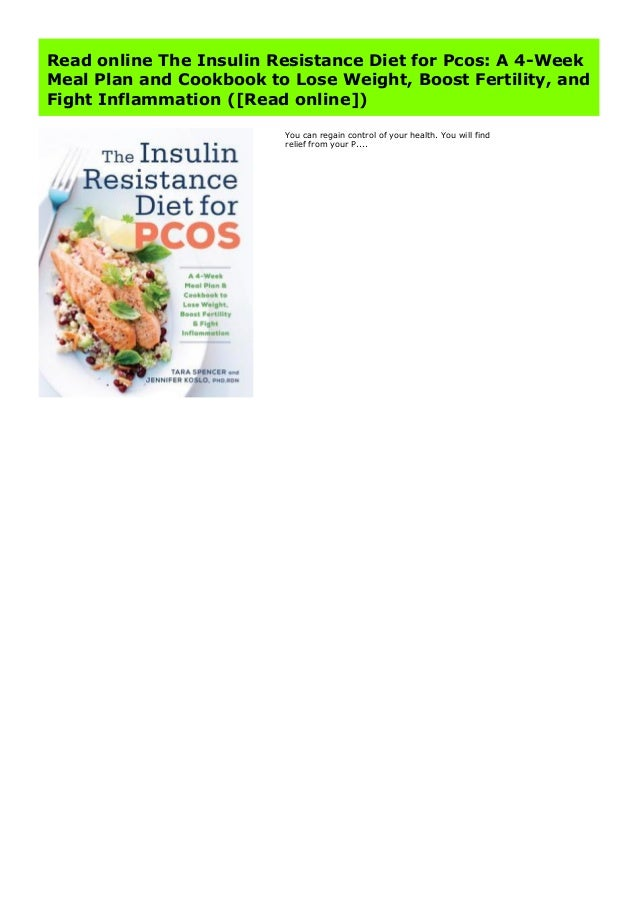 insulin resistance diet meal plan