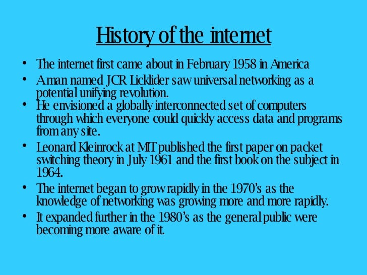 brief history of internet essay  mistyhamel english essay internet importance of in