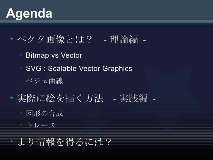 The Introduction to Vector Graphics Slide 2