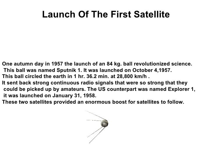The Invention Of Satellite