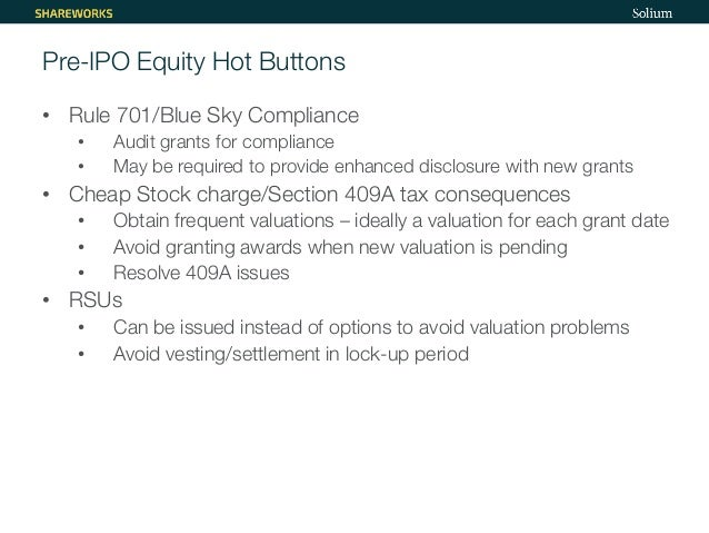 Section 409a nonqualified stock options