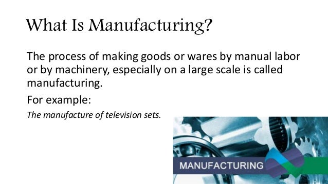 Industrial & Manufacturing Sector of Pakistan