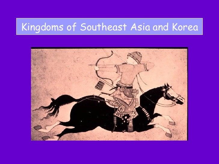Kingdoms of Southeast Asia and Korea